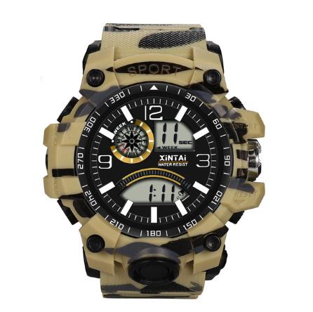 ファッションハイエンド多機能 30 メートルスポーツ防水電子時計 デジタルメンズ腕時計 屋外スポーツ防水電子時計 -y0613_画像2
