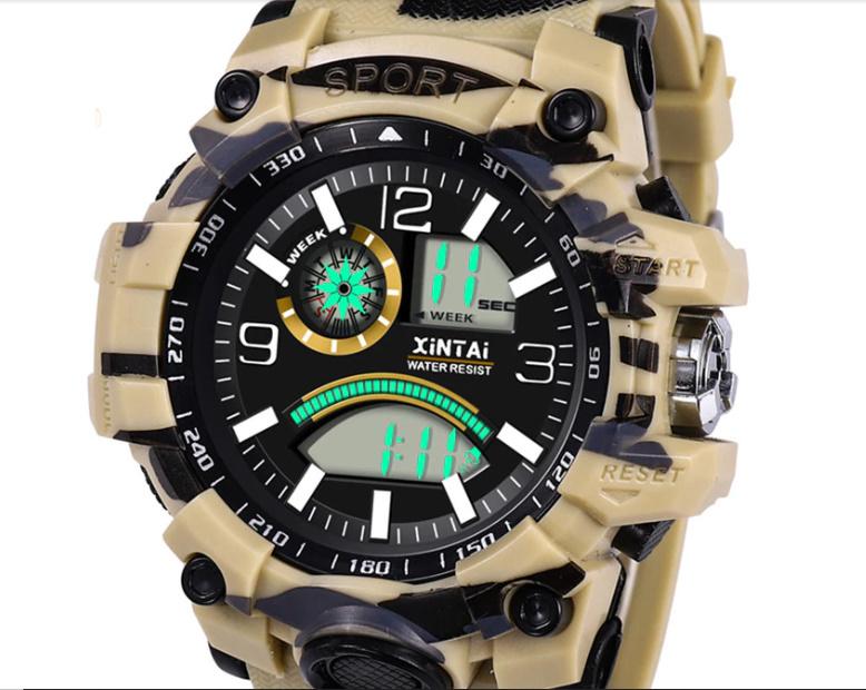 ファッションハイエンド多機能 30 メートルスポーツ防水電子時計 デジタルメンズ腕時計 屋外スポーツ防水電子時計 -y0613_画像5