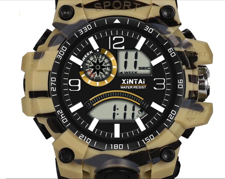 ファッションハイエンド多機能 30 メートルスポーツ防水電子時計 デジタルメンズ腕時計 屋外スポーツ防水電子時計 -y0613_画像4