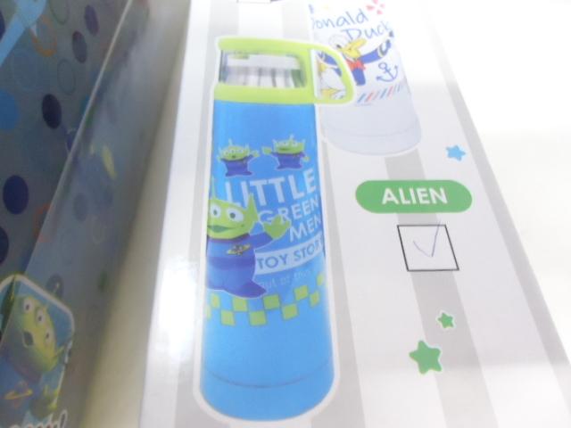 トイ・ストーリー バズ・ライトイヤー フィギュア/ステンレスボトル・candy Dispenser 3点 未使用品 セット_画像2