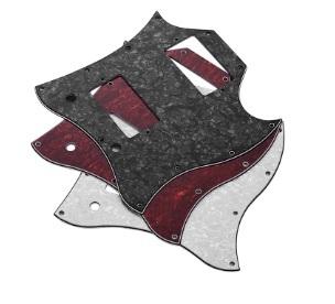 ギターピックガード エレキギターピックガード交換カスタム改造社外品 スクラッチプレート Sg ハムバッカー×2スタイル_画像2