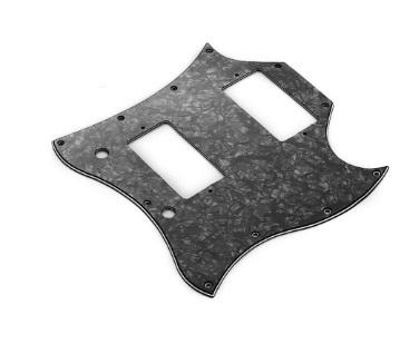 ギターピックガード エレキギターピックガード交換カスタム改造社外品 スクラッチプレート Sg ハムバッカー×2スタイル_画像3