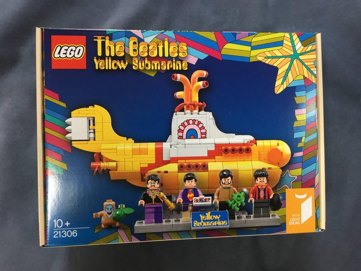 LEGO IDEAS「The Beatles Yellow Submarine 21306」アイデア ザ・ビートルズ イエローサブマリン レゴ _画像1