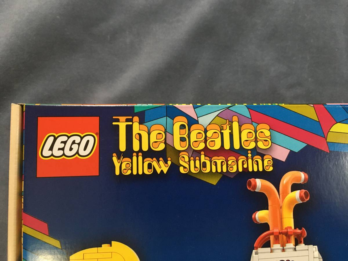 LEGO IDEAS「The Beatles Yellow Submarine 21306」アイデア ザ・ビートルズ イエローサブマリン レゴ _画像2
