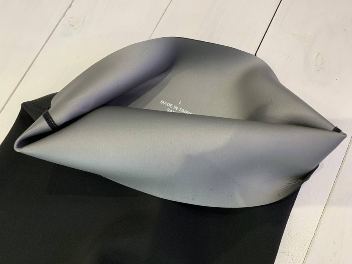 ウェットスーツ ロングパンツ 保温インナー メタルスキン Lサイズ 1mm ウエットスーツ サーフィン メンズ 男性 SUP マリンスポーツ_画像3