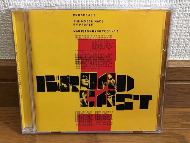 Broadcast / The Noise Made by People サイケ ドリームポップ 名盤 輸入盤 STEREOLAB Young Marble Giants Deerhunter Death And Vanilla_画像1