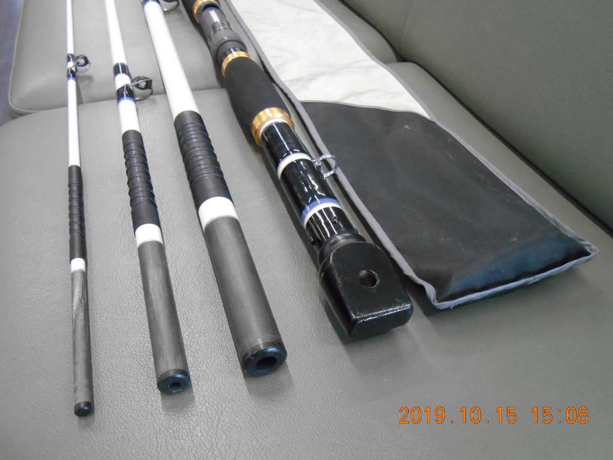 オリムピック銘竿 クエ竿 トカラファイター48泳がせEX 中古のお品です。クエ、アラ、モロコ、アーラミーバイ、ガーラ、磯マグロ等_画像5