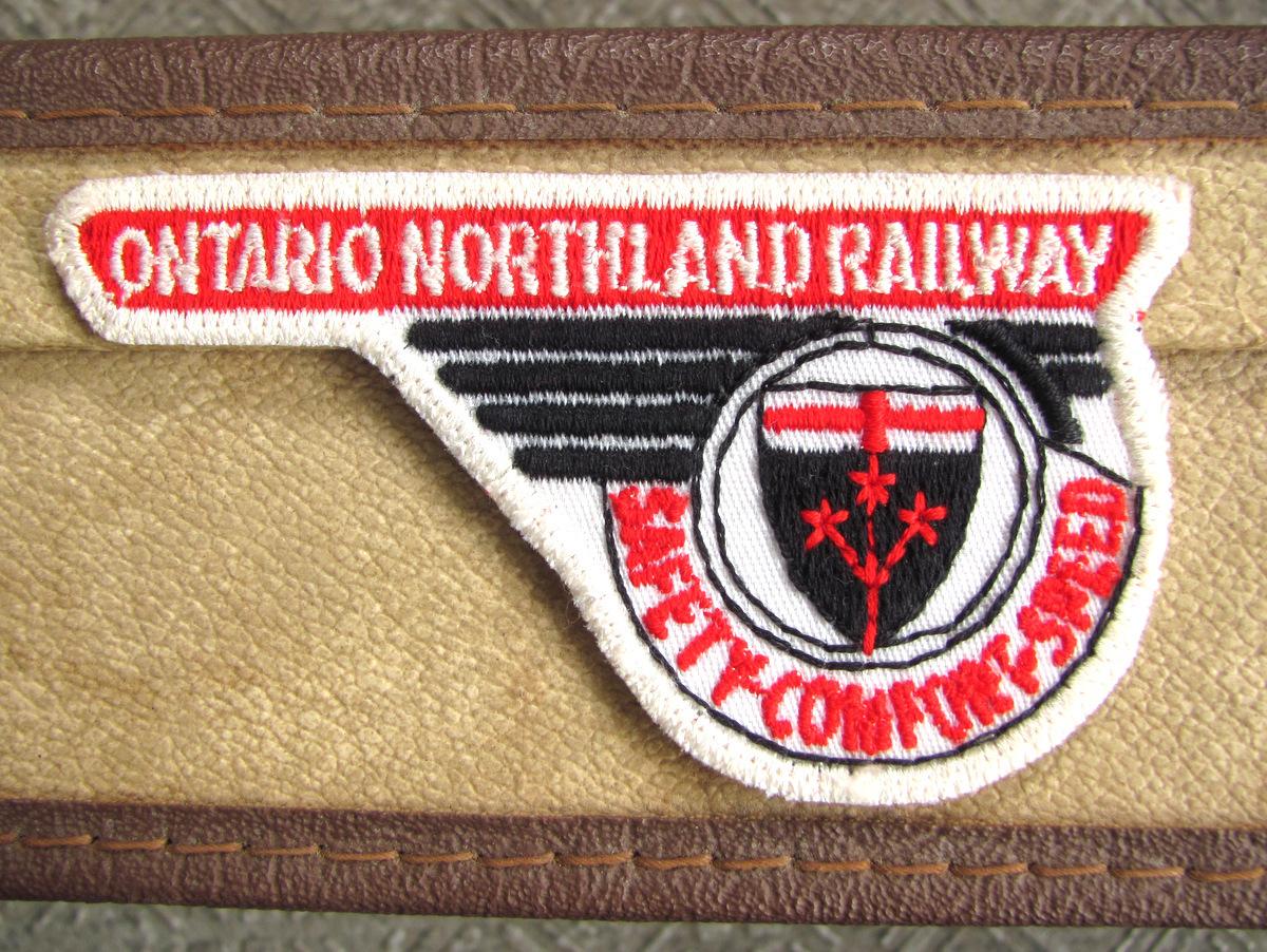 【ワッペン】Ontario Northland 1970s デッドストック USA レイルロード ビンテージ アメリカ 鉄道 古着 レア ワーク アメカジ パッチ_画像1