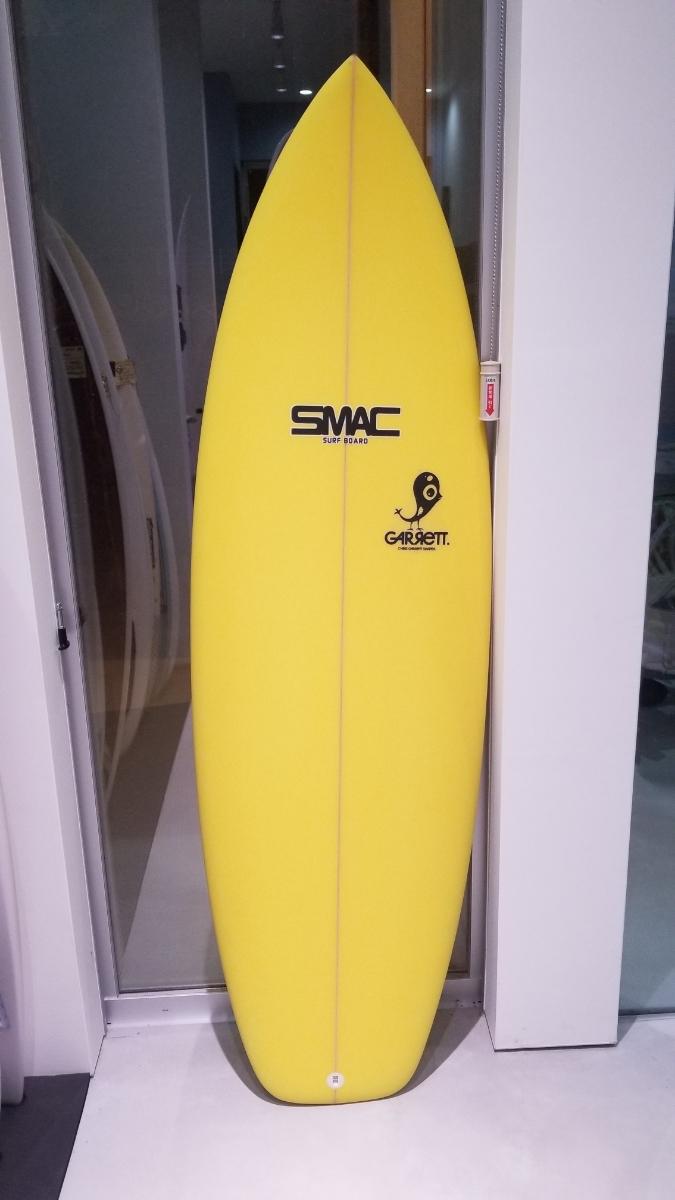 新品展示品 SMACサーフボード CHRIS GARRETT_画像1