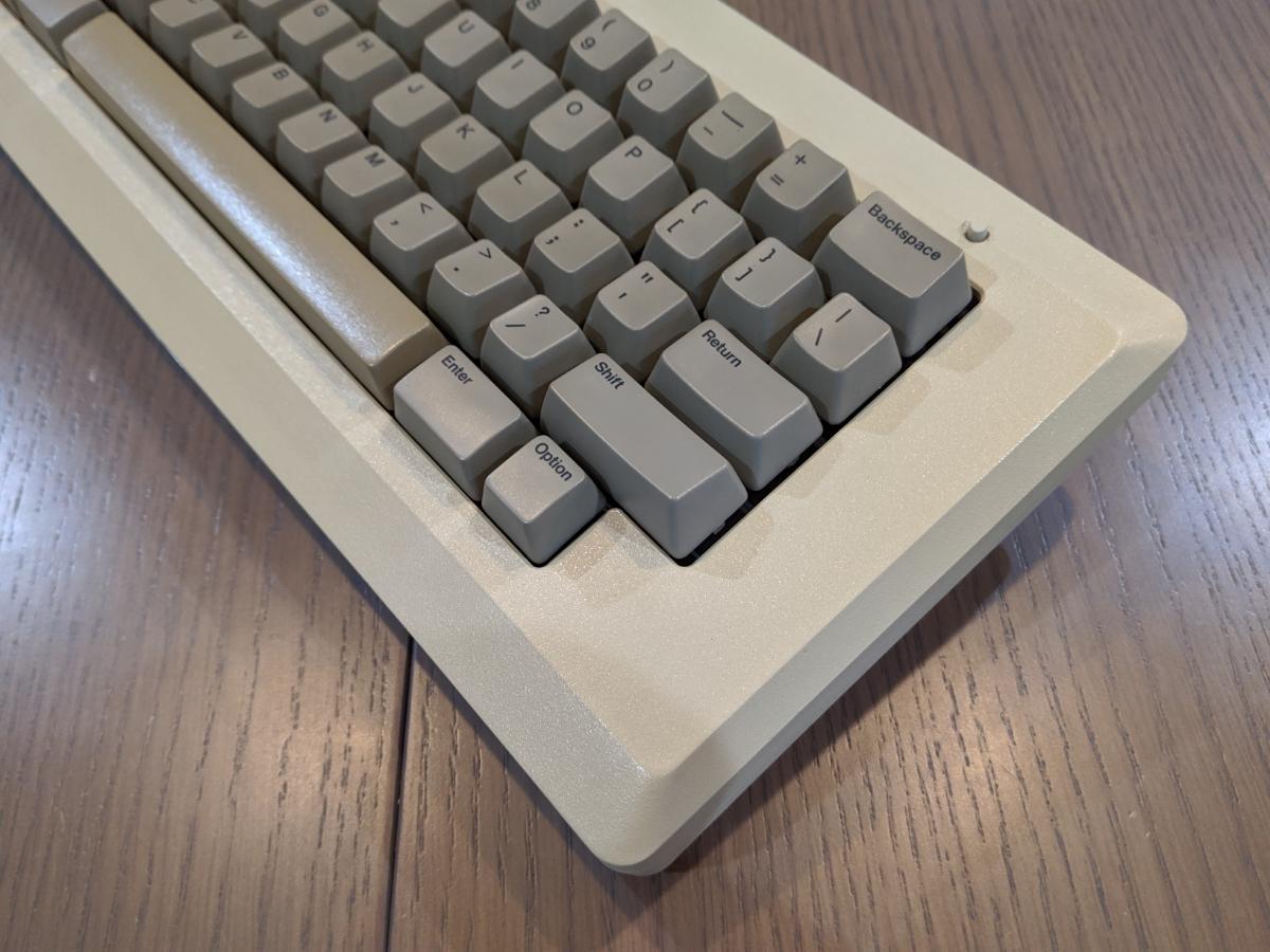 Apple Macintosh 128K ショートキーボード 超レア品 Bluetooth_画像2