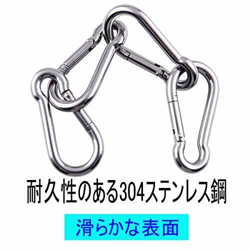 размер 6cmkalabina304 нержавеющая сталь springs крюк брелок для ключа многофункциональный kalabina уличный треккинг падение предотвращение выдерживающий груз