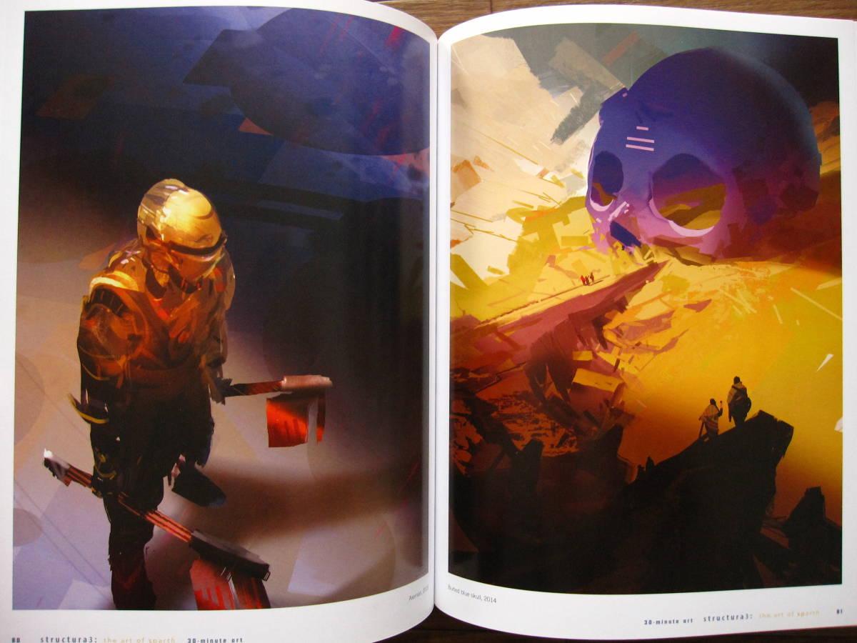 絶版 希少本 洋書 Structura 3 : The Art of Sparth / Sparth : Nicolas Bouvier / ペーパーバック版_画像2