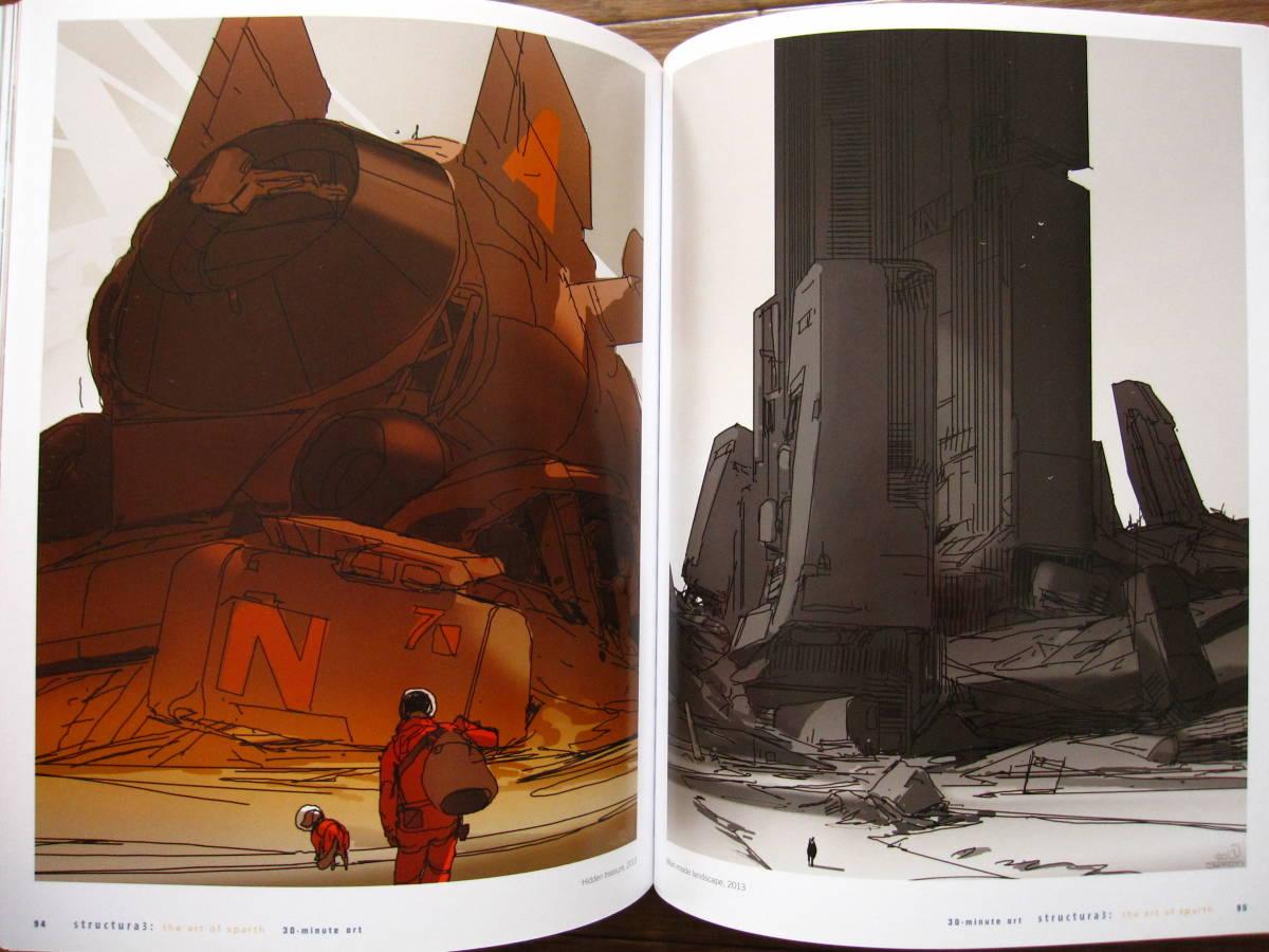 絶版 希少本 洋書 Structura 3 : The Art of Sparth / Sparth : Nicolas Bouvier / ペーパーバック版_画像5
