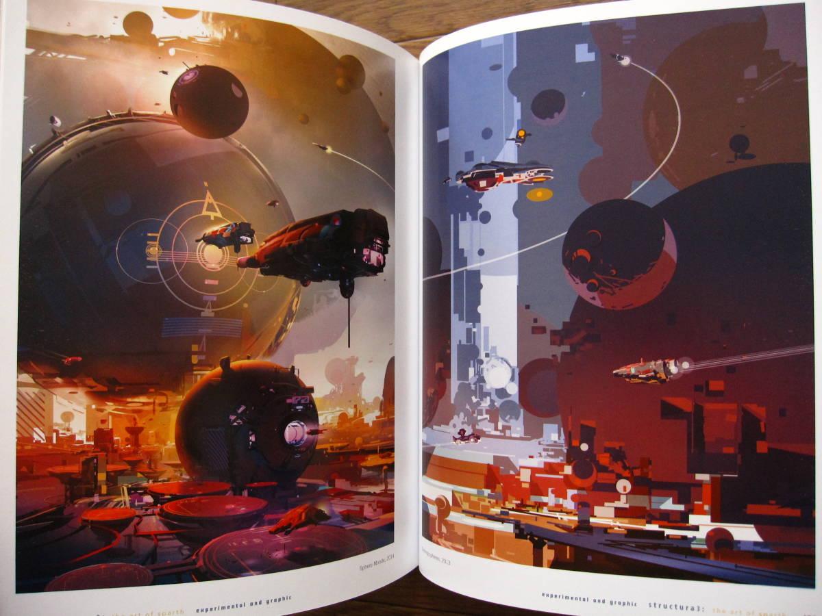 絶版 希少本 洋書 Structura 3 : The Art of Sparth / Sparth : Nicolas Bouvier / ペーパーバック版_画像6