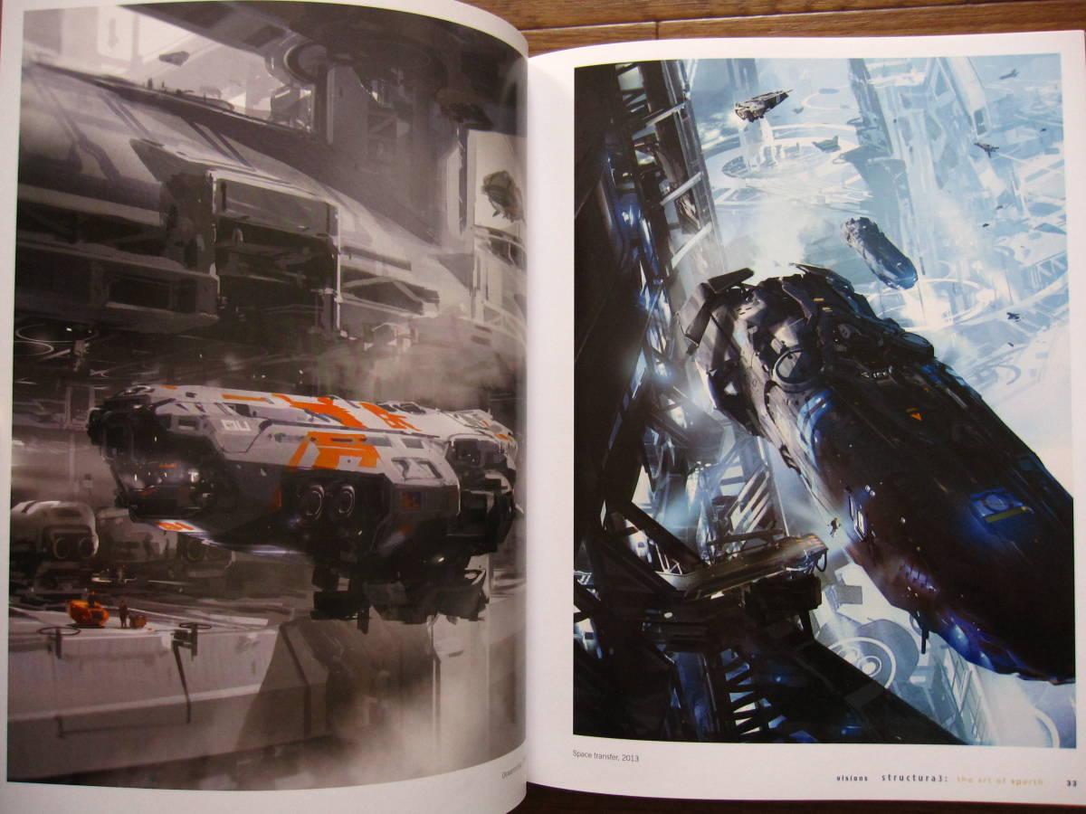 絶版 希少本 洋書 Structura 3 : The Art of Sparth / Sparth : Nicolas Bouvier / ペーパーバック版_画像8