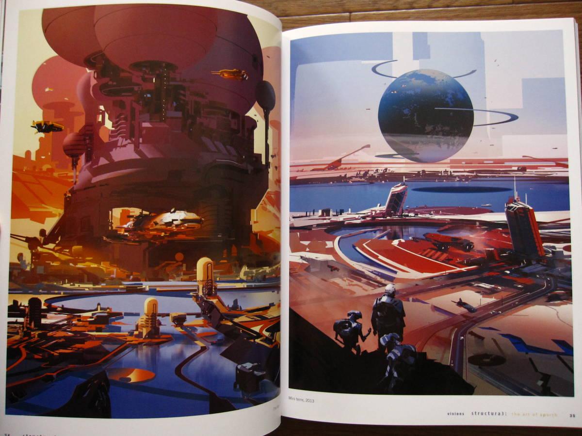 絶版 希少本 洋書 Structura 3 : The Art of Sparth / Sparth : Nicolas Bouvier / ペーパーバック版_画像9