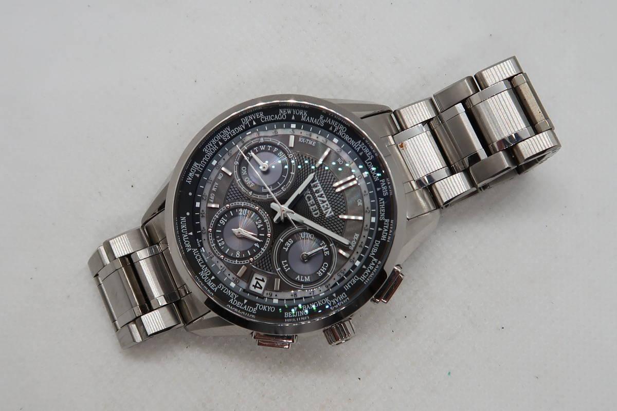 ◆◇CITIZEN シチズン エクシード エコ・ドライブ GPS衛星電波 F900-T022685 メンズ 腕時計◇◆_画像2