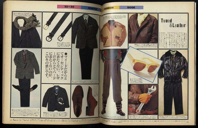 送料無料即決♪昔の雑誌、ホットドッグプレス。Hot Dog Press♪美品。 特集:いま何を着る?何を買う?冬のシティブランド完全カタログ_画像3