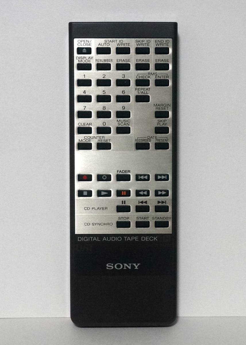 SONY ソニー RM-D57A/D DTC-57ES 用リモコン 赤外線確認済み