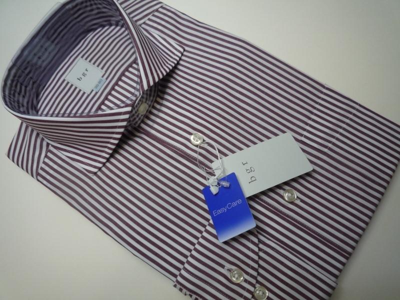 新品 bgr(ダーバン) イージーケアドレスシャツ 39-80 小豆色 8690円