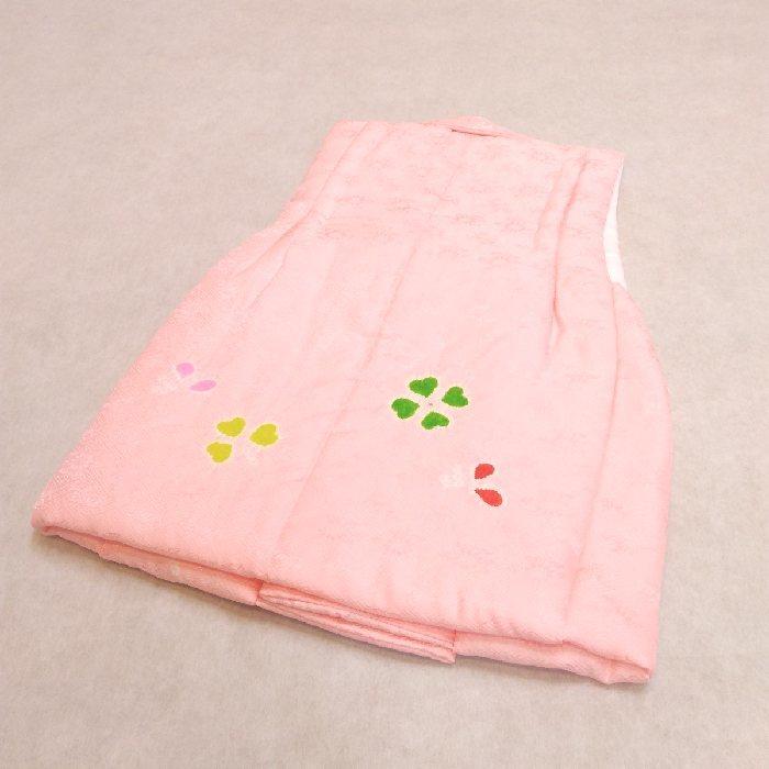 七五三 着物 mi466 3歳 正絹被布コート 絞り ピンク 日本製_画像4