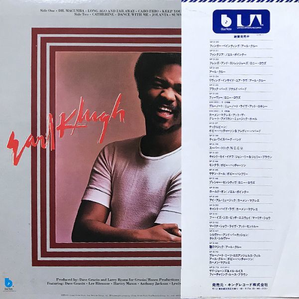【Blue Note/フュージョン/国内盤/帯】Earl Klugh アール・クルー / Finger Paintings ■ Blue Note / GP 3120_画像2