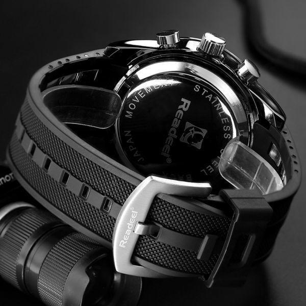 高級ブランド腕時計メンズ用スポーツ腕時計防水 LED デジタルクォーツメンズミリタリー腕時計時計メンズレロジオ Masculino_画像5