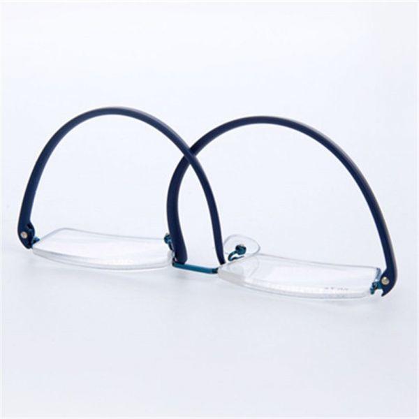Uvlaik tr90老眼鏡レディースメンズ軽量フレーム樹脂レンズ老眼メガネリーダー処方眼鏡_画像3