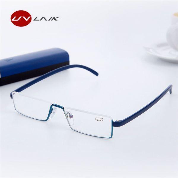 Uvlaik tr90老眼鏡レディースメンズ軽量フレーム樹脂レンズ老眼メガネリーダー処方眼鏡_画像1