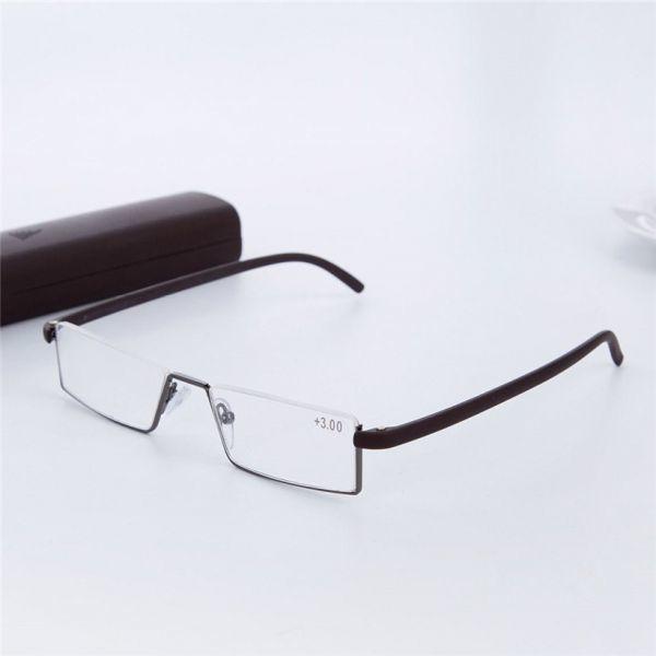 Uvlaik tr90老眼鏡レディースメンズ軽量フレーム樹脂レンズ老眼メガネリーダー処方眼鏡_画像4