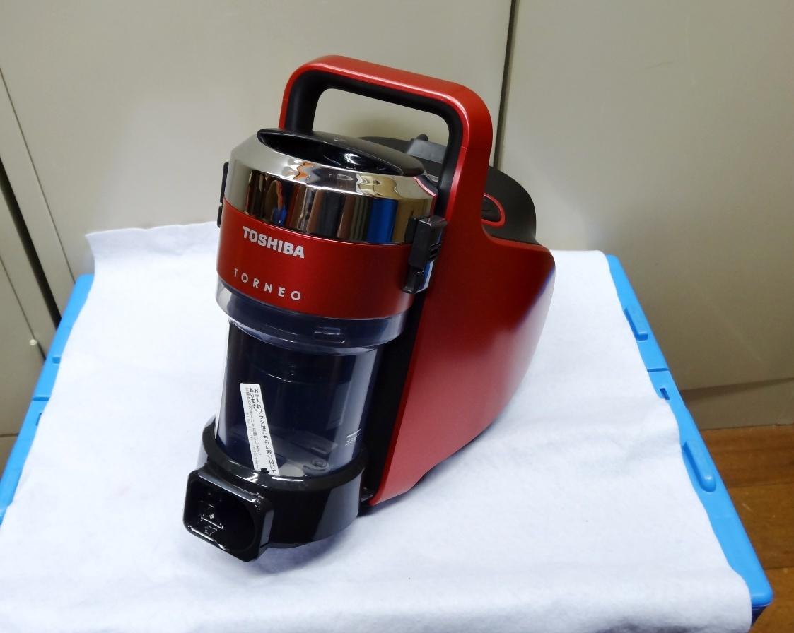 ☆東芝 サイクロンクリーナー トルネオVコンパクト VC-JS6000(R)未使用品☆_画像1