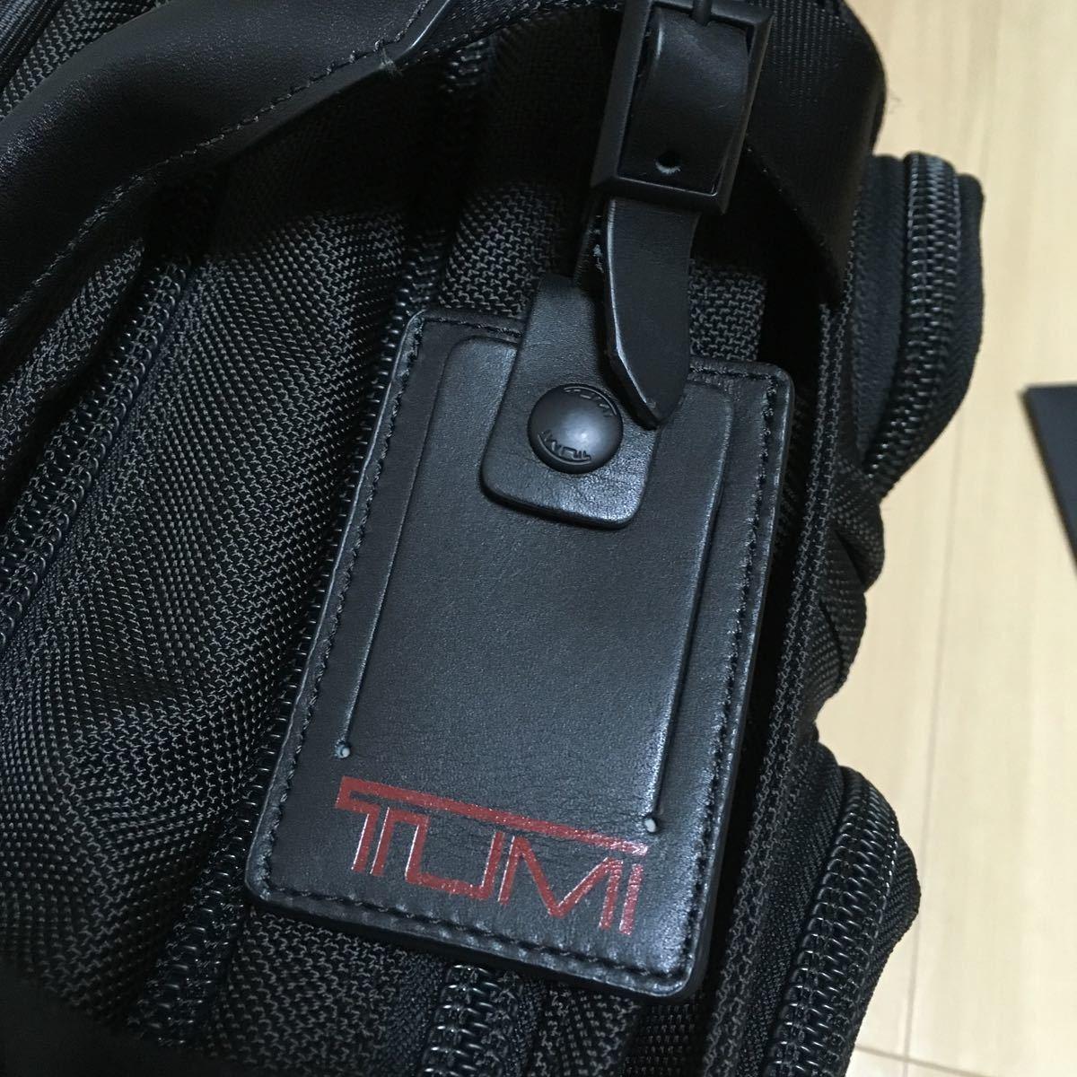 最終値下げ 極美品 TUMI ビジネスバッグ 26141 ブラック 出張 エクスパンダブル トゥミ ALPHA 2WAY ブリーフケース_画像4