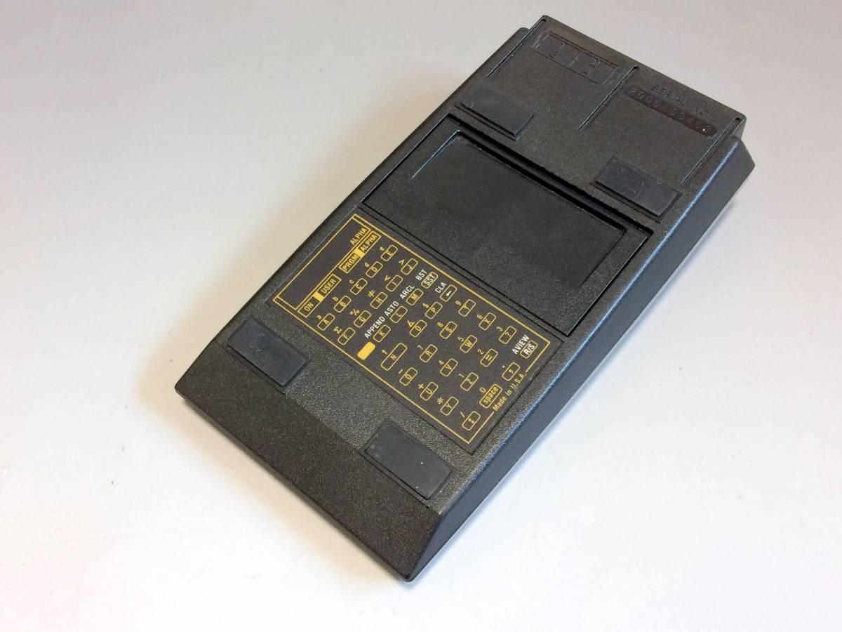 ★希少★ プログラム関数電卓 HP-41C ヒューレット・パッカード 逆ポーランド法 RPN法 システム電卓_画像5