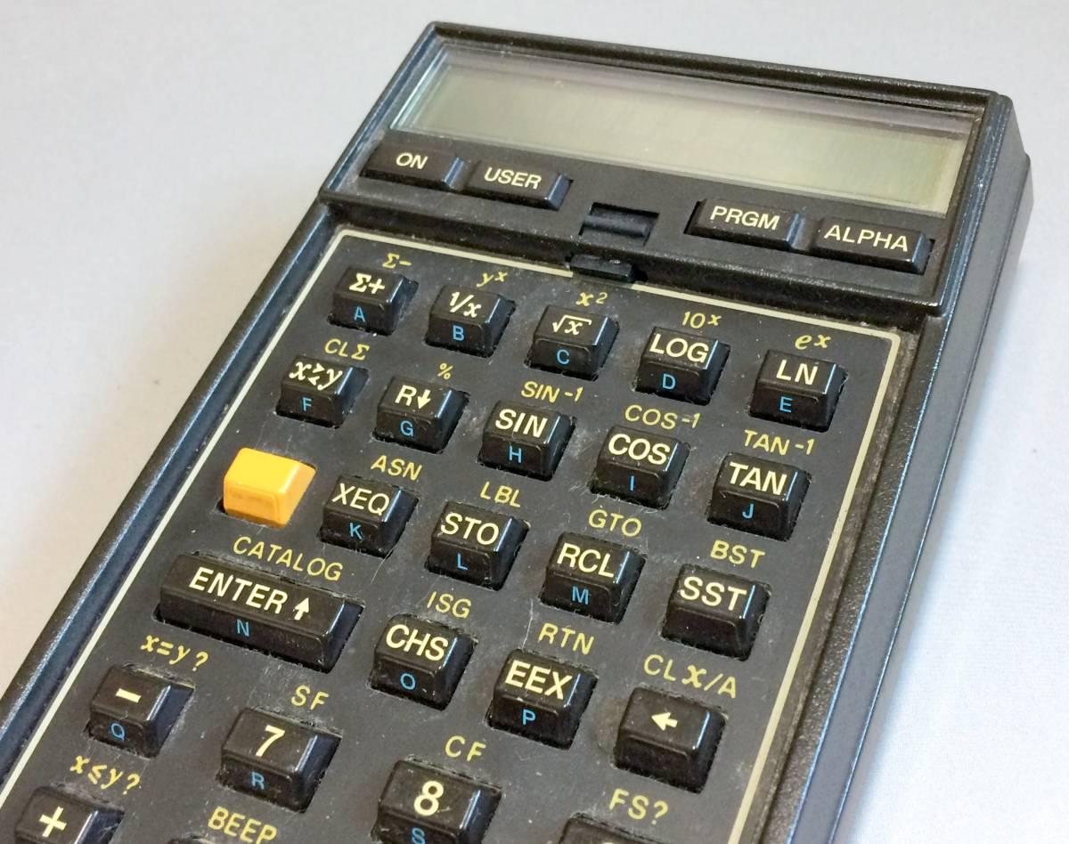 ★希少★ プログラム関数電卓 HP-41C ヒューレット・パッカード 逆ポーランド法 RPN法 システム電卓_画像2