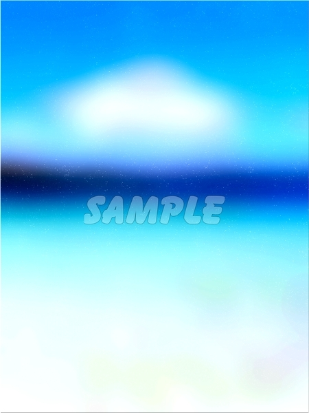 ●CG絵イラスト背景●完全オリジナル著作権フリー◆青空 湖 海◆幻想ファンタジー風印刷プリント高解像度画像素材集516点_画像3