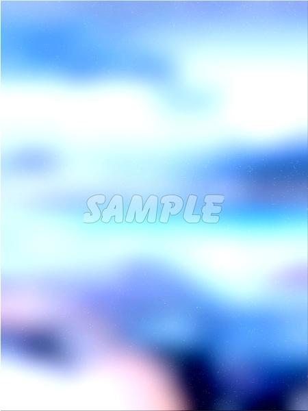 ●CG art●Original copyright free◆Light fantasy blue Underwater◆Fantasy print high resolution image picture 1,201 items_画像7