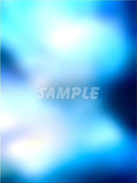 ●CG art●Original copyright free◆Light fantasy blue Underwater◆Fantasy print high resolution image picture 1,201 items_画像6