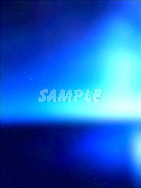 ●CG art●Original copyright free◆Light fantasy blue Underwater◆Fantasy print high resolution image picture 1,201 items_画像9