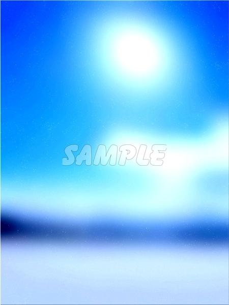 ●CG art●Original copyright free◆Light fantasy blue Underwater◆Fantasy print high resolution image picture 1,201 items_画像10