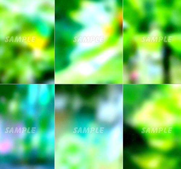 ●CG絵イラスト背景●完全オリジナル著作権フリー◆緑森林木◆幻想ファンタジー風印刷プリント高解像度画像素材集1,457点_画像1