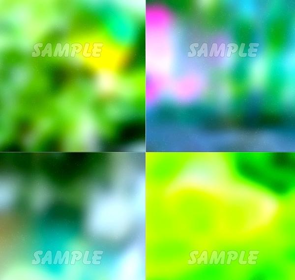●CG絵イラスト背景●完全オリジナル著作権フリー◆緑森林木◆幻想ファンタジー風印刷プリント高解像度画像素材集1,457点_画像2