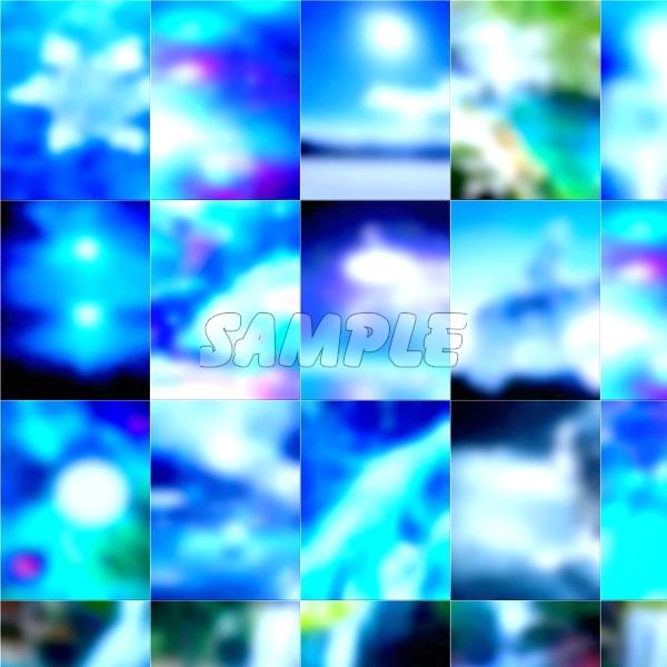●CG art●Original copyright free◆Light fantasy blue Underwater◆Fantasy print high resolution image picture 1,201 items_画像2