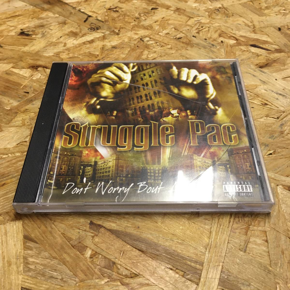 HIPHOP STRUGGLE-PAC - DON'T WORRY BOUT A THANG CD 中古品