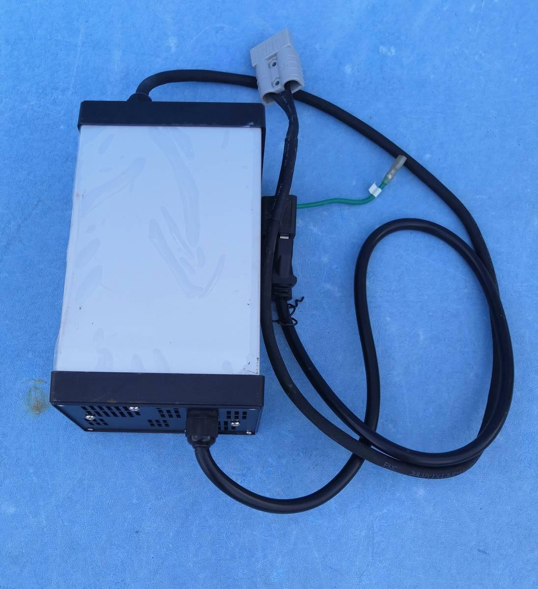 リーフバッテリーユニット10枚用コムスの電池交換後の充電器84V10A充電動作確認しました_画像1