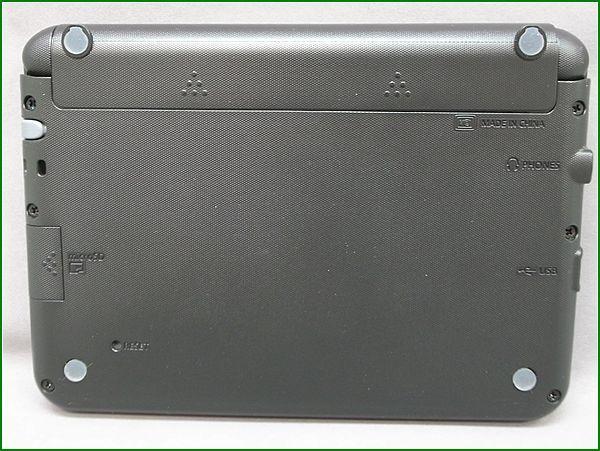 CASIO カシオ EX-word XD-G9800 電子辞書 黒_画像6