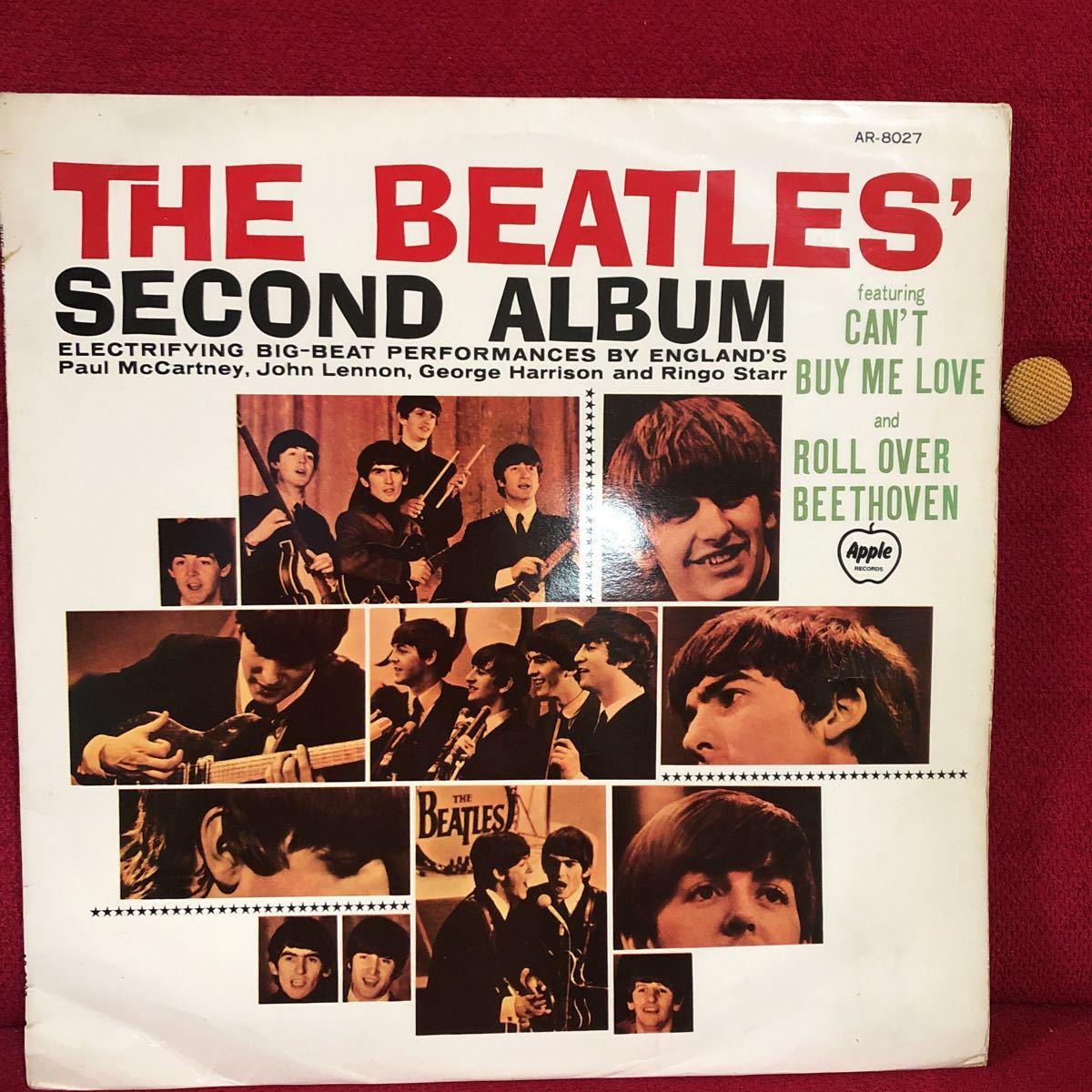 LPレコード★洋楽★THE BEATLES ★ビートルズNO.2!★SECOND ALBUM ★レコード多数出品中  紙ジャケ_画像1