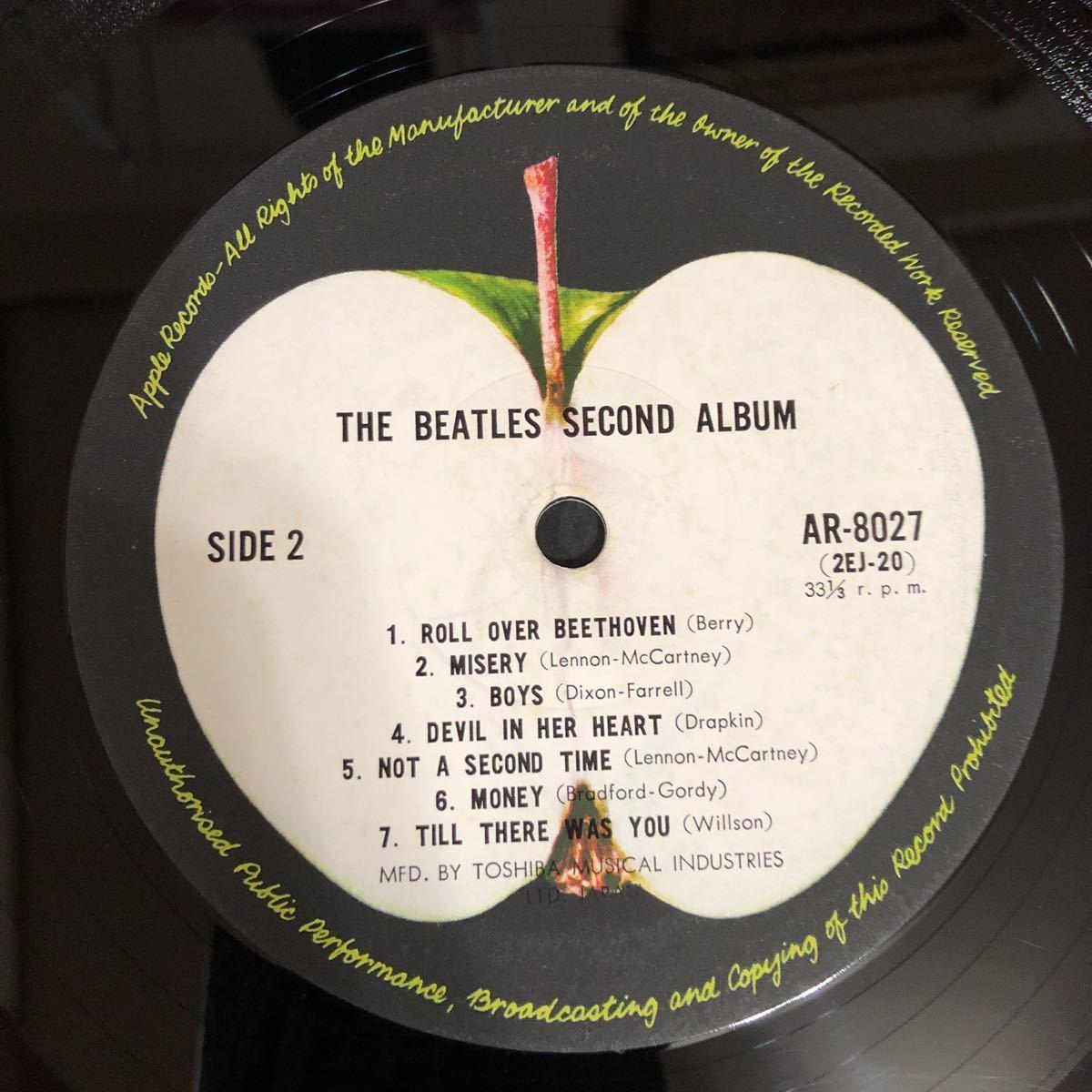 LPレコード★洋楽★THE BEATLES ★ビートルズNO.2!★SECOND ALBUM ★レコード多数出品中  紙ジャケ_画像7