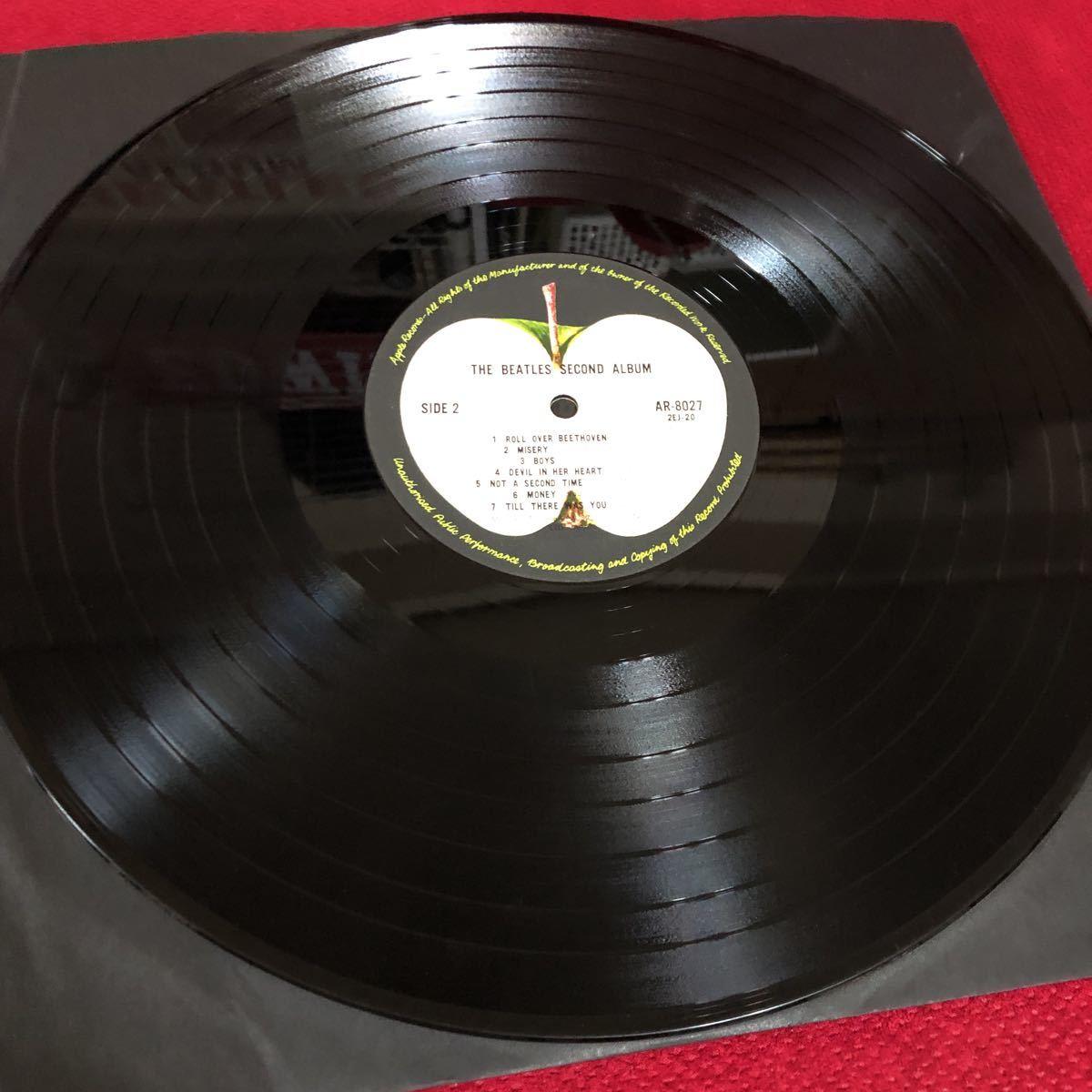 LPレコード★洋楽★THE BEATLES ★ビートルズNO.2!★SECOND ALBUM ★レコード多数出品中  紙ジャケ_画像6