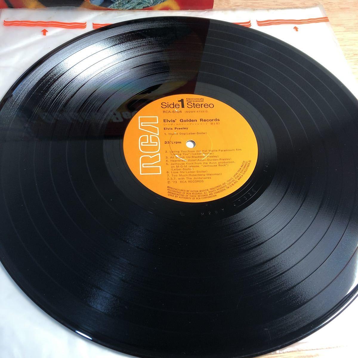 レア盤★LPレコード★エルヴィス・プレスリー★エルヴィスのゴールデン・レコード第1集★ 是非この機会に レコード多数出品中_画像4