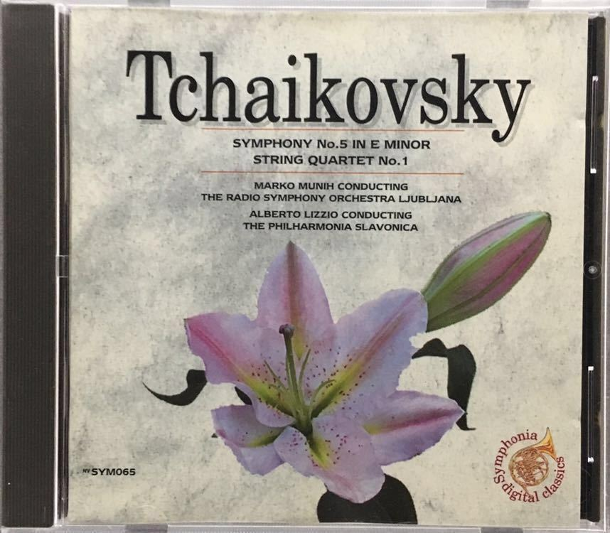 CD/ チャイコフスキー:交響曲第5番 / マルコ・ムニー&リューブリャーナ放送響